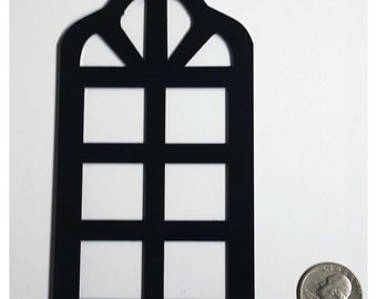Curved arch window (set of 2)