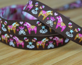 "Woven Ribbon brown color mix ""Daladreams"""