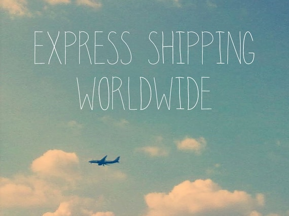 Express Shipping Upgrade - Fast Delivery Worldwide - EMS - Urgent Shipment