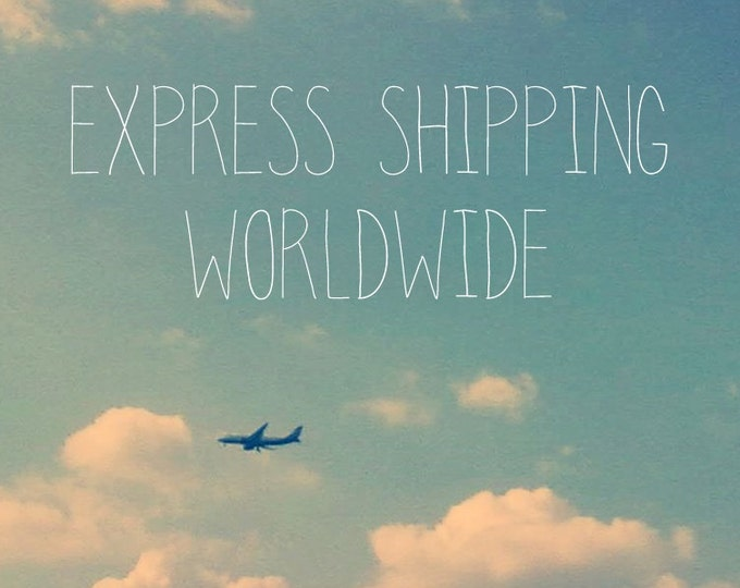 Express Shipping Upgrade - Fast Delivery Worldwide - EMS - Fast Shipping - Rush My Order - Urgent Shipment - Shipping Worldwide