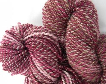 Precious Plum handspun yarn