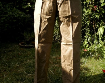 Loose Fit Vintage Light Weight Trousers (by Dispensary)