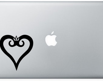 Kingdom Hearts Laptop Decal