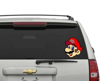 Mario Car Decal