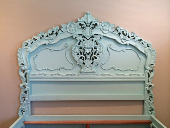 Bedroom Set French Provincial Rococo Style By