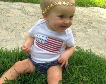 American Flag Bodysuit