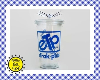 Custom Acrylic Tumbler, Made to Order with Your Business Logo, MTO CUSTOM Acrylic Cup, Team Mascot, School Mascot, Fundraiser, Sports Team