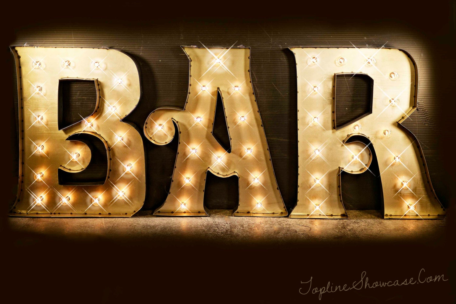 BAR Marquee Signs Marquee Letters Marquee Lights Vintage