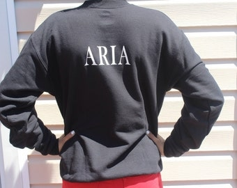Pretty Little Liar Name Sweatshirt-Aria