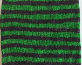 Wicked - Hand Dyed, Self Striping Sock Yarn