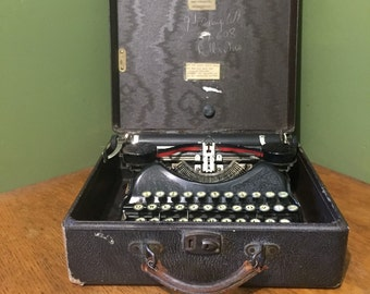 vintage corona typewriter 1920s, CORONA 4
