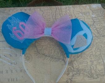 Custom one of a kind Disney 60th anivasary ears