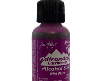 Tim Holtz Adirondack Alcohol Ink Earthtones WILD PLUM 0.5oz  (PM4048)