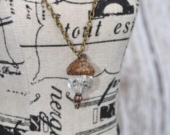 Acorn Jewelry - Bronze - Necklace