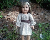 american girl doll vintage dress and belt
