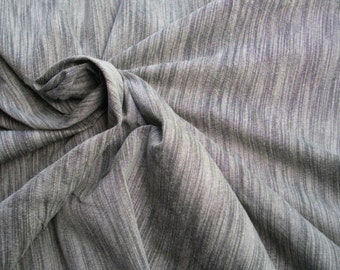 Handwoven Cotton from Northern Thailand. Shades of grey. 3 metres/3.3 yards
