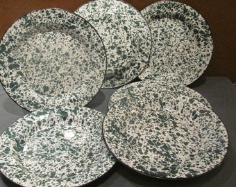 Granitware Plate Set of 6