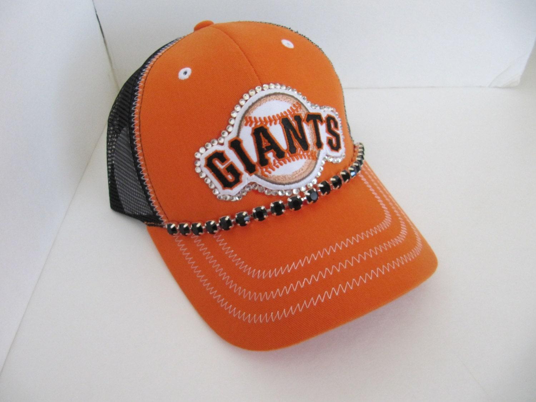 giants hat sf giants bling hat spirt hat womens by