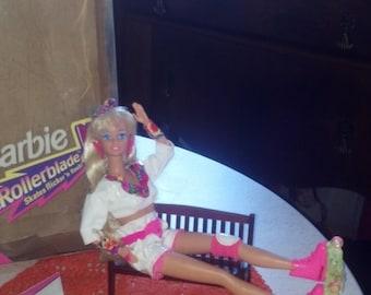 Roller Skate Barbie doll