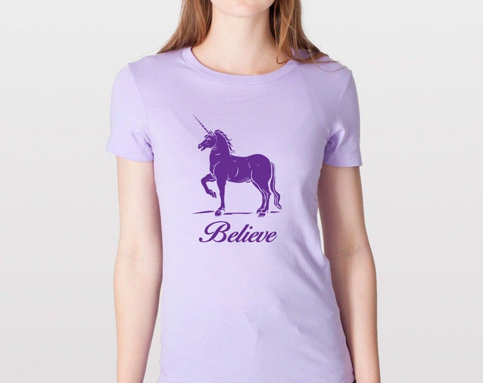 KillerBeeMoto: Believe In Unicorn T-Shirt