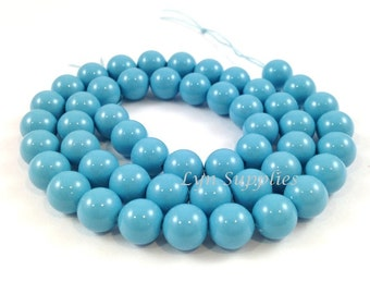 4mm TURQUOISE 5810 Swarovski Crystal Pearls 50pcs or 100pcs Small Round Pearls