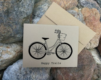 Happy Trails Note Cards