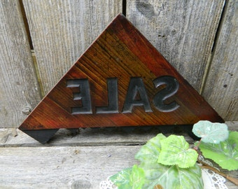 Vintage Wood Sign - SALE