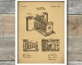 Kodak Camera Patent, Kodak Camera Poster, Kodak Camera Print, Kodak Camera Decor, Kodak Camera Art P167