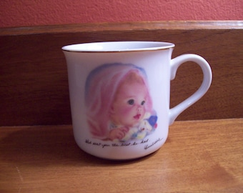 1984 Baby's First Gift Cup by Frances Hook - Roman