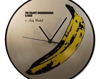 Clock Vinyl VELVET UNDERGROUND & Nico, by Andy Warhol, Picture Disc!