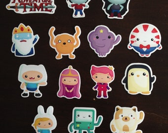 Adventure Time Magnets - Decorative Character Magnets
