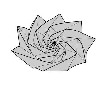 Origami Diagram for Spiral of Life