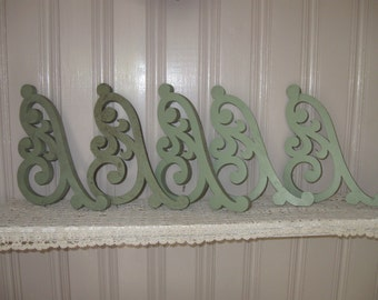 Original,Architectural Gingerbread Fretwork,Set of Five....