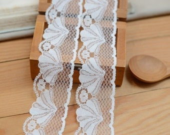 off white  Lace Trims ,dress lace edges,shell lace ribbon