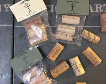 Wine Cork Magnet 3 Pack