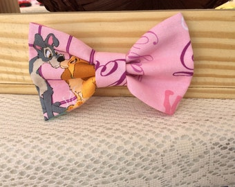Lady and the tramp pink bow