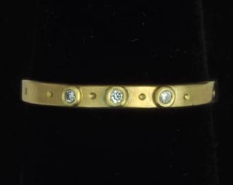 18K Diamond Little Ring