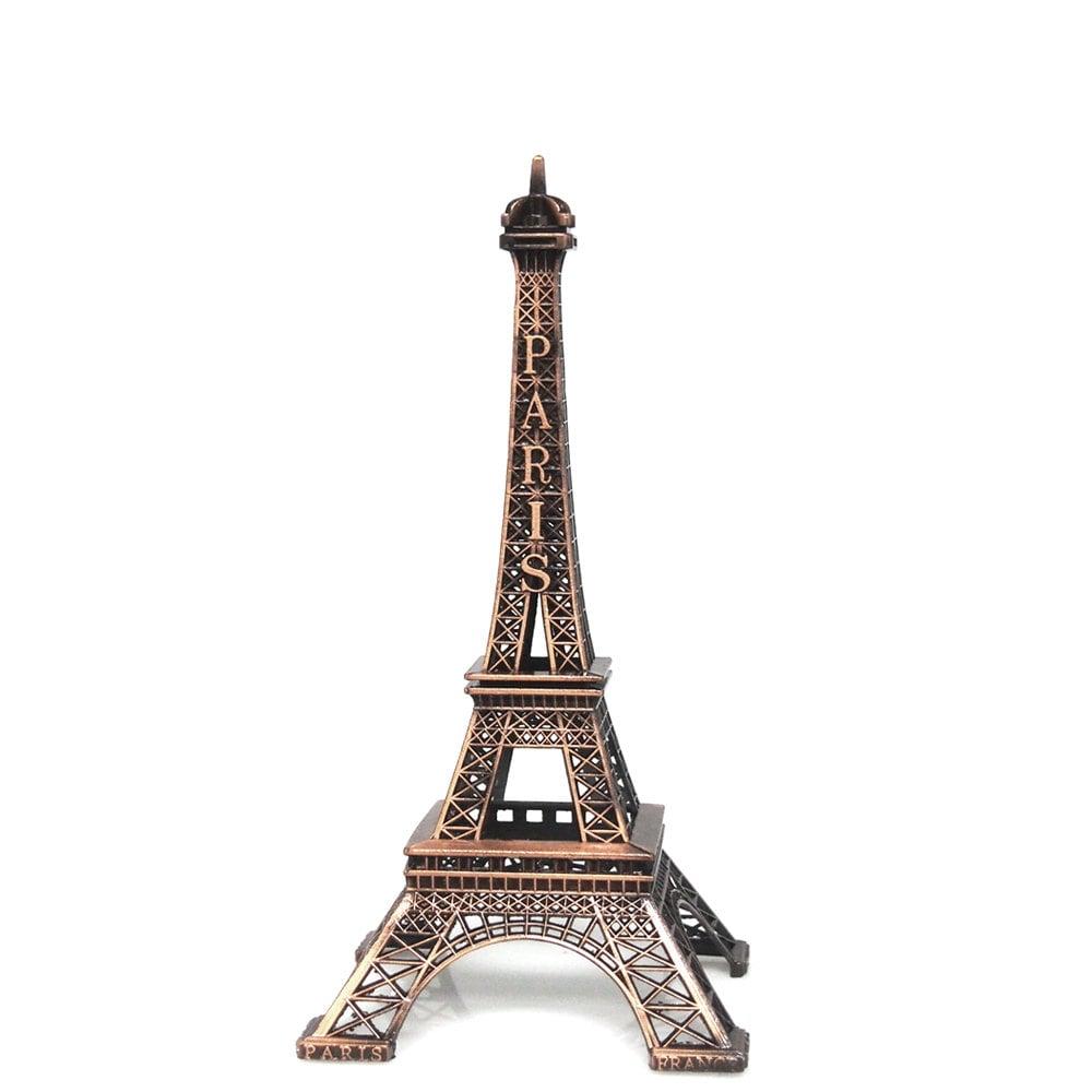 Aluminum Brass Working France: Metal Eiffel Tower Paris France Decor Centerpiece By PartySpin