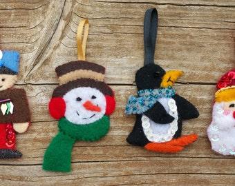 You Pick Your Own, Penguin, Santa, Soldier, Snowman