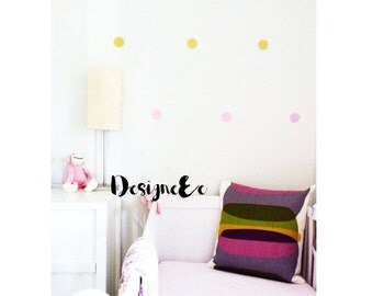Glitter Dot Wall Stickers