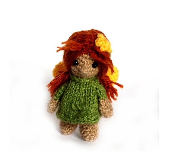 Items similar to crochet fairy doll, amigurumi fairy girl ...