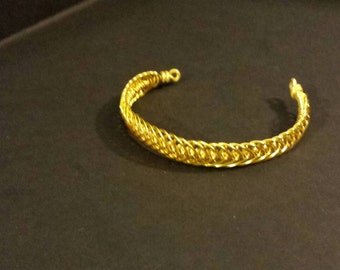 Wire bracelet hand made