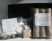 Herb Garden Pellet Starter Kit - 15 Herb Seed Types! Bonus Moringa Seeds!