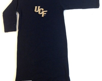 UCF Central Florida Knights Baby Layette Gown