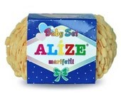 ALize BABY Set Marifetli High Quality Fancy Turkish for handknitting. Pack of SIX ( 6 ) Skeins. Free Shipping