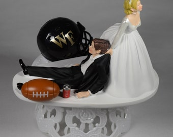Funny Wedding Cake Topper Ole Miss Rebels By Creationsbydhyani