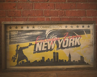 Escape from New York Lobby Board