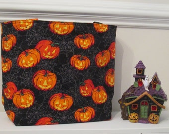Jack O'Lantern Trick or Treat Bag