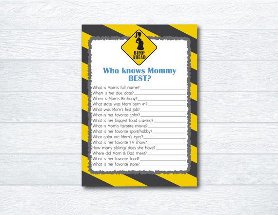 construction themed baby shower game baby shower activity