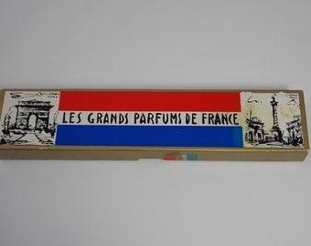 Les Grands Parfums De France Miniature Collection Charles V Parfumeur Paris New York